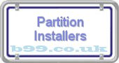 partition-installers.b99.co.uk